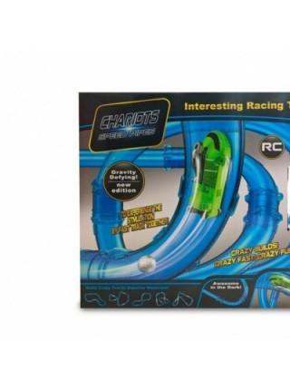 Автотрек трубопроводные гонки Chariots Speed Pipes 37 деталей SKL11-131942