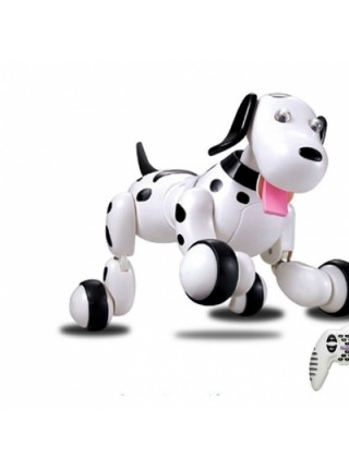 Робот-собака HappyCow Smart Dog на радиоуправлении черный SKL17-139944