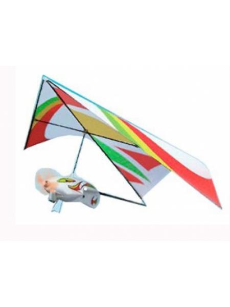 Самолёт ZT Model Q-Shark дельтаплан электромоторный 250мм SKL17-139885