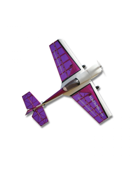 Самолёт Precision Aerobatics Katana Mini Kit на радиоуправлении 1020мм фиолетовый SKL17-139843