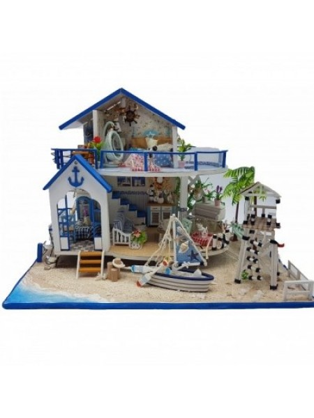 3D Интерьерный конструктор Midsize Diy Doll House Legend Of The Blue Sea SKL25-223376