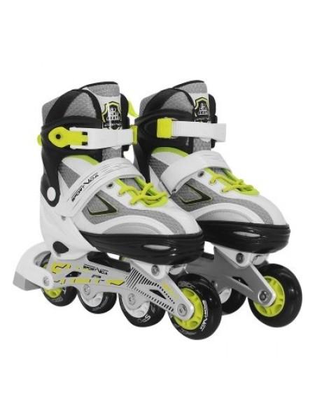 Роликовые коньки SportVida Size 31-34 Grey/Yellow SKL41-277908