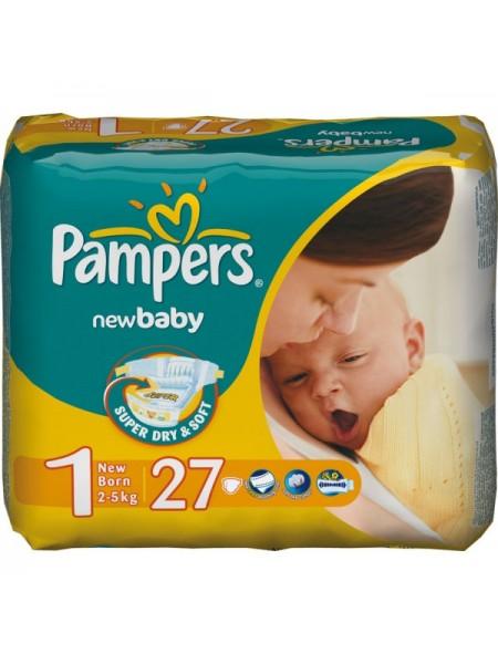 Подгузники Pampers New Baby