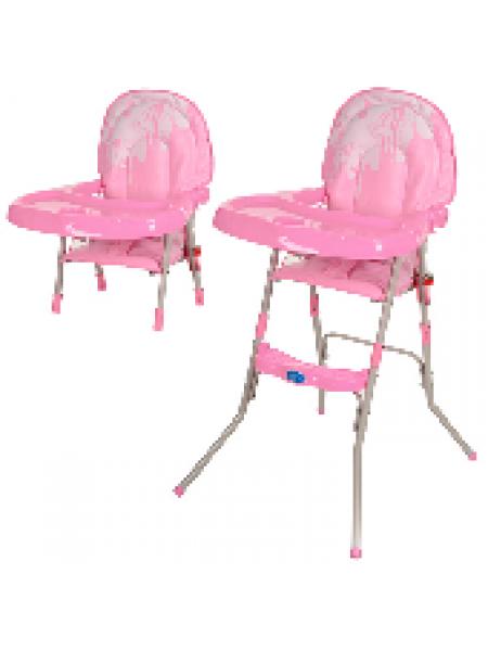 Стульчик для кормления Bambi розовый