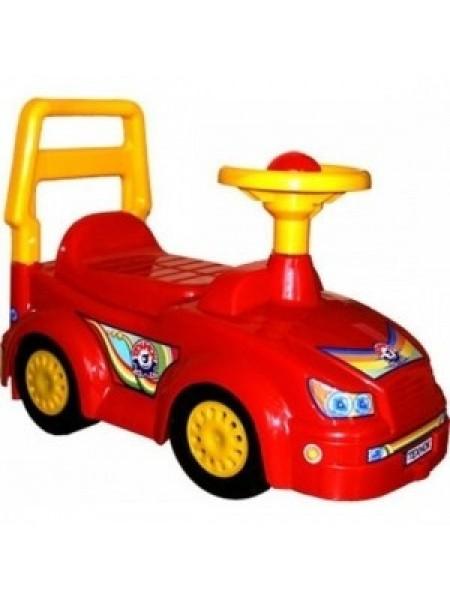 Игрушка - каталка автомобиль-толокар для прогулок