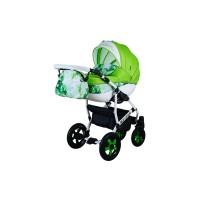 Детская коляска  VIPER FRESH VF-92, 2 в 1 салатовая