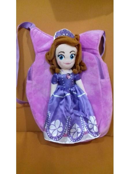 Мягкая игрушка Сумка-рюкзак София, 35 см