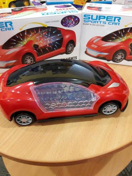 Машина 3D, музыка, свет
