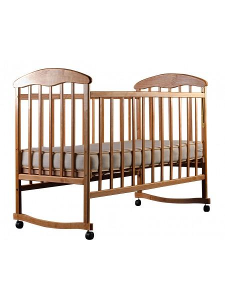 Детская кроватка светлая ольха