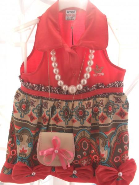 Платье с аксессуарами