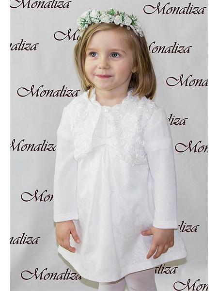 Платье нарядное с болеро в розочки