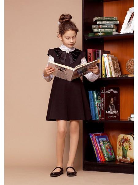 Сарафан-платье школьное