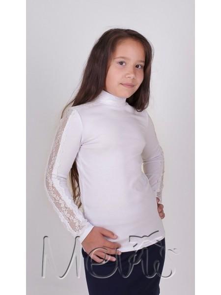 Школьная нарядная блузка - гольф