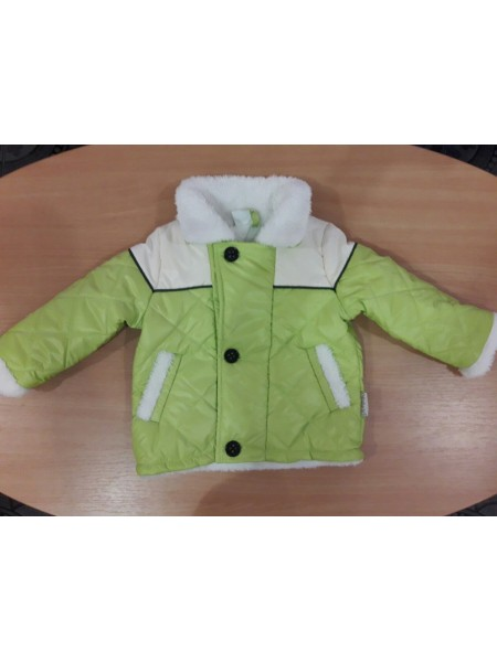 Демисезонная курточка для мальчика на махре