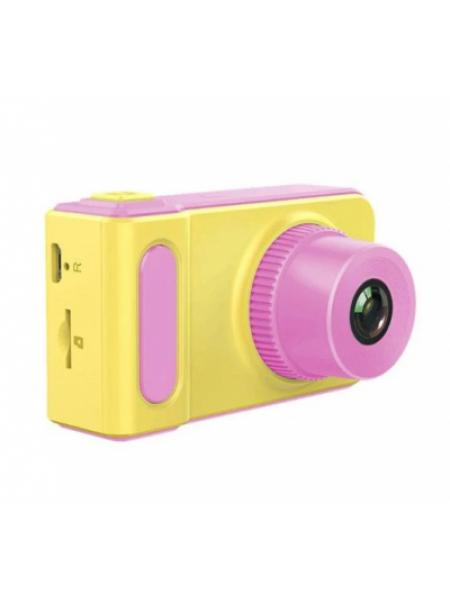 Детский фотоаппарат с записью видео и цветным экраном dvr baby camera V7 розовый SKL11-236839